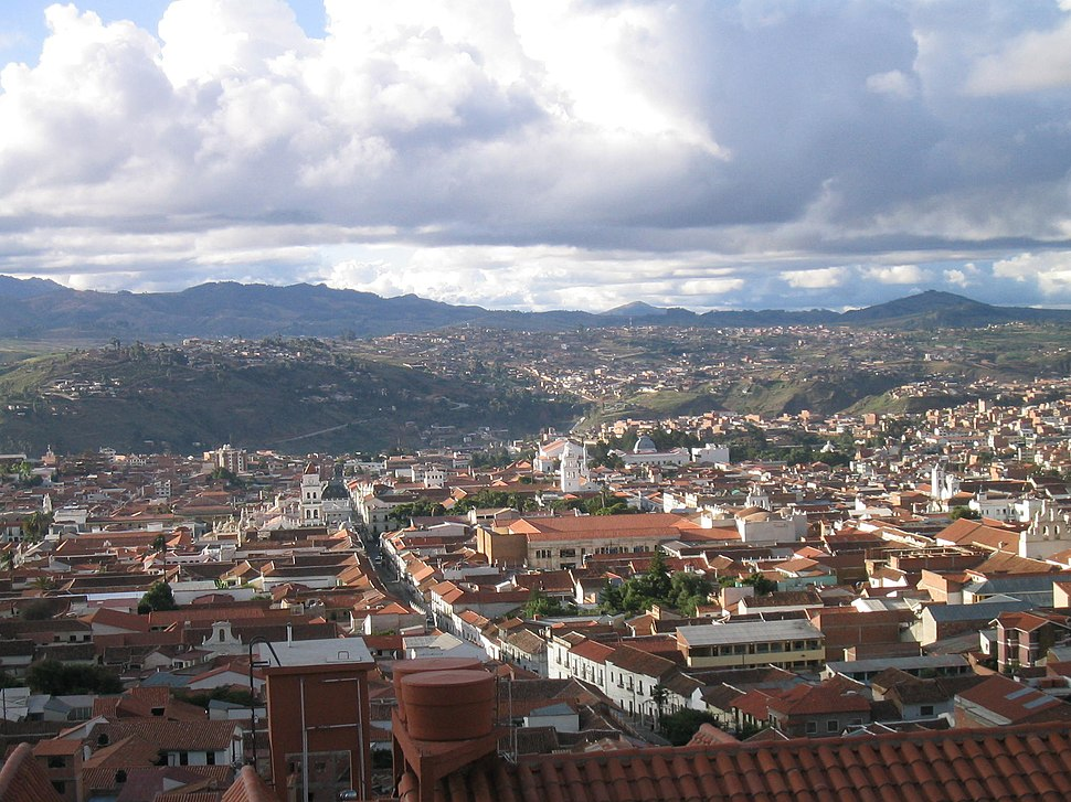 Panorama of Sucre