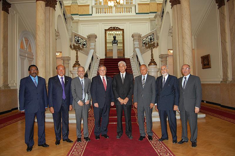 File:Sudan Envoy - Four-party talks representatives in Cairo.jpg