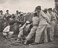 Sudirman's casket being lowered into the grave, Kenang-Kenangan Pada Panglima Besar Letnan Djenderal Soedirman, p19.jpg