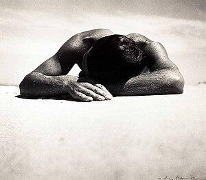 Max Dupain - Sunbaker Max Dupain, 1975 silver gelatin print from original 1937 negative