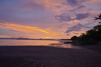 Nicoya Peninsula - Sunset over the Nicoya Peninsula