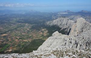 Supramonte - View of Supramonte from Punta Sos Nidos