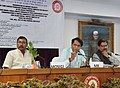 Suresh Prabhakar Prabhu addressing at the inauguration of the Following Passenger and Freight Initiatives namely- 1. Signing of Agreement under Long Term Tariff Contract with Key Customers.jpg
