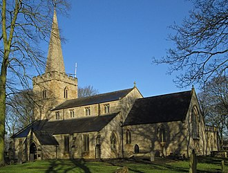 Sutton-in-Ashfield - Image: Sutton in Ashfield St Mary Church from ESE (landscape)