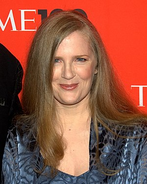 The Hunger Games (novel) - The Hunger Games author Suzanne Collins in 2010