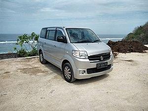 Suzuki IndoMobil Motor - Image: Suzuki APV Arena GX (front), Pandawa Beach