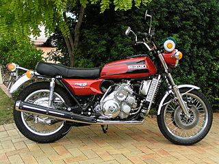 Suzuki rotary-engined motorcycle