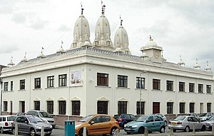 Shri Swaminarayan Mandir, Cardiff - Image: Swaminarayan Temple in Cardiff