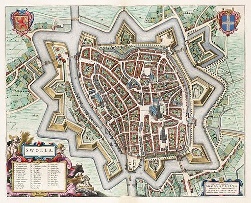 Swolla - Zwolle (Atlas van Loon)