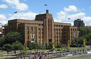Museum of Contemporary Art Australia - The façade of the Museum of Contemporary Art in Sydney's Circular Quay