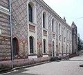 Synagogue, north facade, 2019 Újpest.jpg