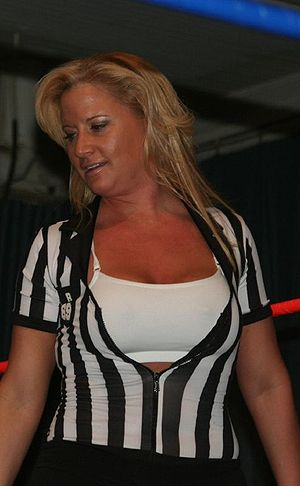 Tammy Lynn Sytch - Sytch as a referee in April 2009