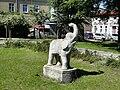 Szczecin Warszewo pomnik slonia.jpg