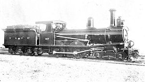 WAGR T class - T167, in its first WAGR livery, ca. 1900
