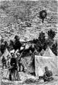 T5- d628 - Fig. 499. — Un aérostat du siège de Paris, passant au-dessus d'un camp prussien.png