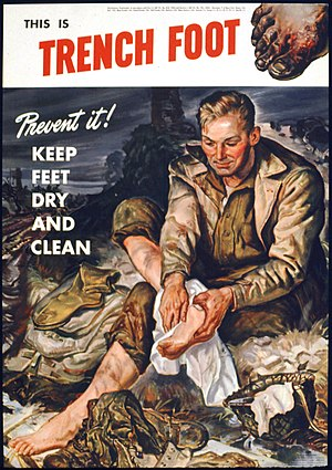 THIS IS TRENCH FOOT. PREVENT IT^ KEEP FEET DRY AND CLEAN - NARA - 515785.jpg