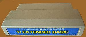 TI Extended BASIC - TI Extended Basic cartridge