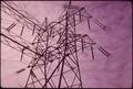 TRANSMISSION LINES OF ELECTRICAL POWER STATION BUILT ON STATEN ISLAND MARSHLAND. OPENING OF VERRAZANO BRIDGE BROUGHT... - NARA - 547936.tif