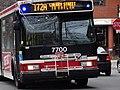 TTC bus 7700 on the Esplanade, 2014 12 28 -g (15972589098).jpg