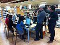 TV3 a Biblioteca Roquetes.jpg
