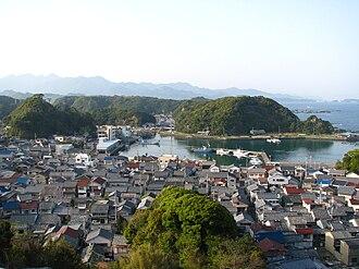 Dolphin drive hunting - The fishing village of Taiji