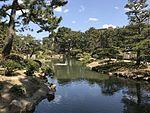 Takueichi Pond in Shukkei Garden 1.jpg