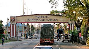 MacArthur Highway - Image: Tarlac City 1