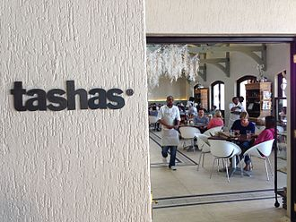 Famous Brands - Image: Tashas restaurant in Constantia