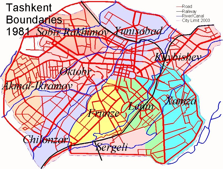 Tashkent History 1981