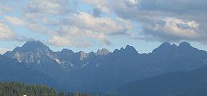 High Tatras - Image: Tatry Panorama 01xxx