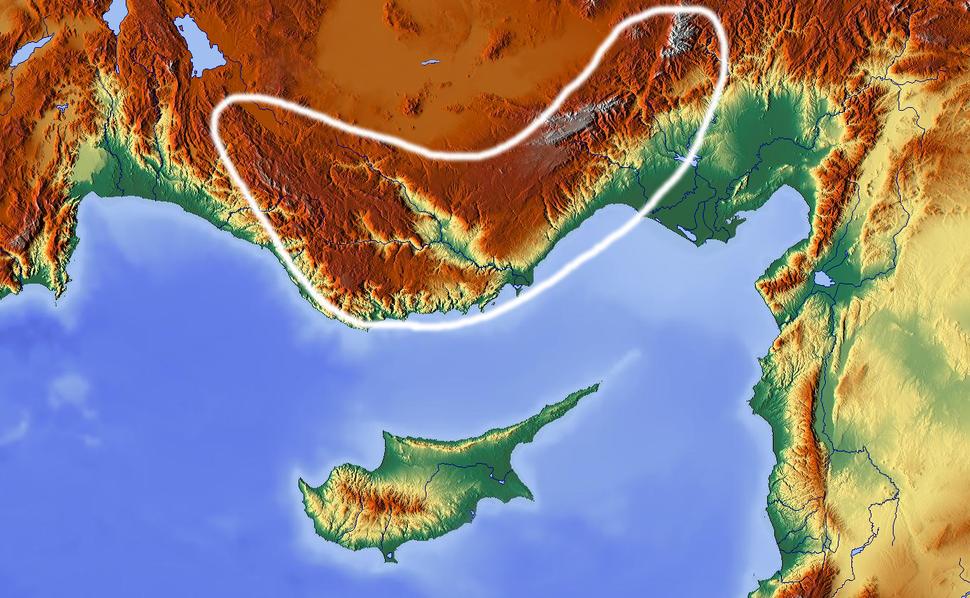 Taurus-mountains