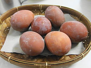 Telur pindang - Image: Telur pindang