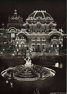 Temple of Music temporary concert hall in Buffalo, New York, erected for the Pan-American Exposition in 1901, site of the murder of president William McKinley