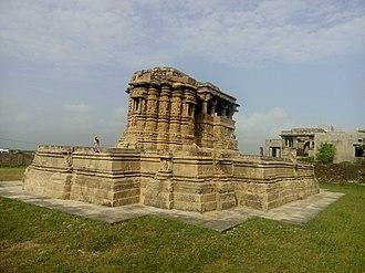 Bhima II - Image: Temple of Rama Laxman, View from sea side