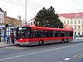 Teplice, Benešovo náměstí, autobus.jpg
