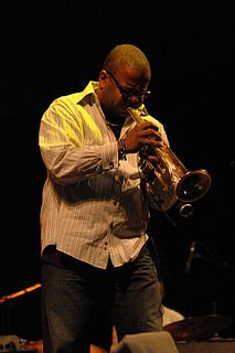 Terence Blanchard American trumpeter and composer