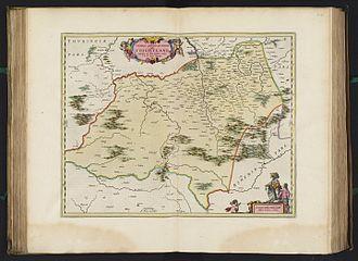 Vogtland - Map of 1662