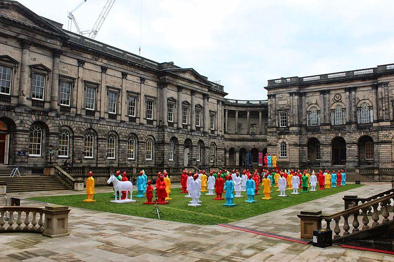 File:Terracotta Warrior Lanterns, Old College, Edinburgh.JPG
