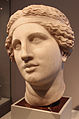 Testa di cantante o dioniso orante, da collezione riccardi di firenze, opera romana da orig. greco del 270-250 ac. ca.JPG