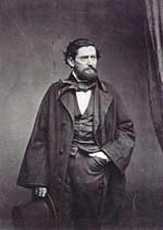John Coffee Hays - Captain John Coffee Hays of the Texas Rangers, photograph date unknown
