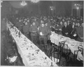 "The ""Second Passover Sedar Dinner"" given by Jewish Welfare Board, to the men of Jewish Faith in the American... - NARA - 531148.tif"