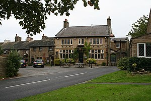 Pub names - The 'Crooked Billet', Worsthorne, Lancashire
