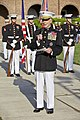 The 35th Commandant of the Marine Corps, Gen. James F. Amos, gives an address during the retirement ceremony for Gen. George J. Flynn, not shown, at Marine Barracks Washington in Washington, D.C., May 9, 2013 130509-M-LU710-293.jpg