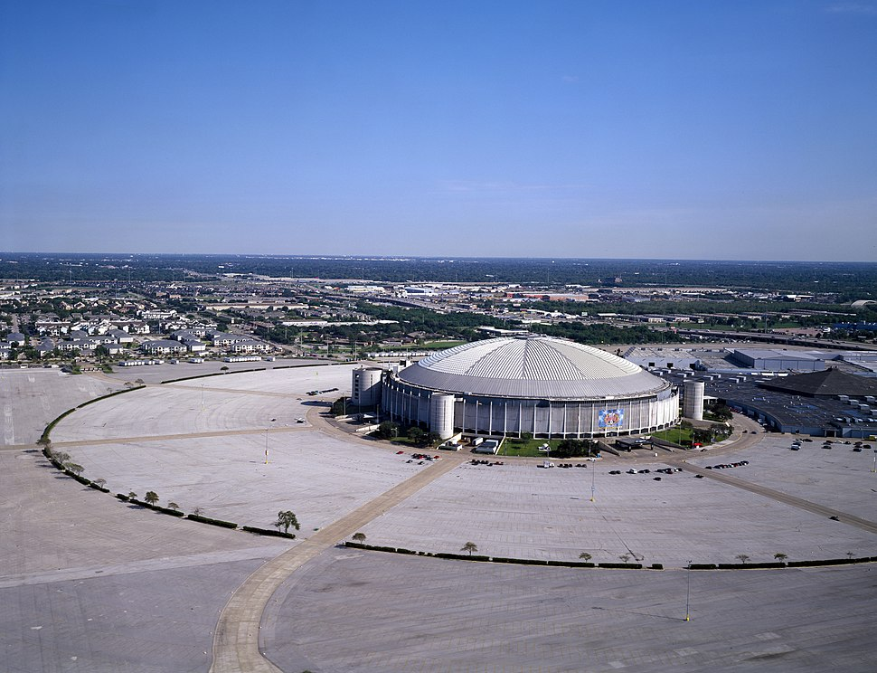 The Astrodome, aerial view