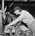 The British Cotton Industry- Everyday Life at a British Cotton Mill, Lancashire, England, UK, 1945 D26014.jpg