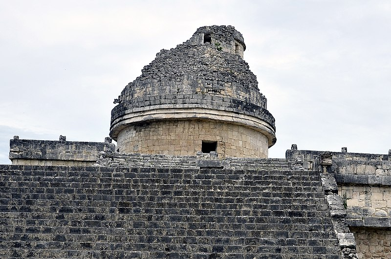 File:The Caracol tower, Chichen Itza, Mexico.jpg