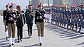 The Chief of Army Staff, General Bipin Rawat inspecting the Parade, during his visit to the NCC Republic Day Parade Camp 2018, in New Delhi on January 16, 2018. The DG, NCC, Lt. Gen. B.S. Sahrawat is also seen.jpg