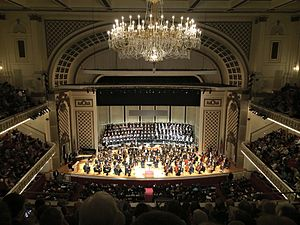 Cincinnati May Festival - The May Festival Chorus and Cincinnati Symphony Orchestra join forces in Cincinnati's Music Hall
