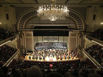 Cincinnati May Festival - The May Festival Chorus and Cincinnati Symphony Orchestra join forces in Cincinnati's Music Hall