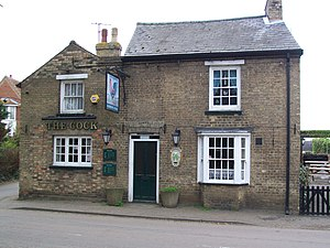 Broom, Bedfordshire - Image: The Cock, Broom